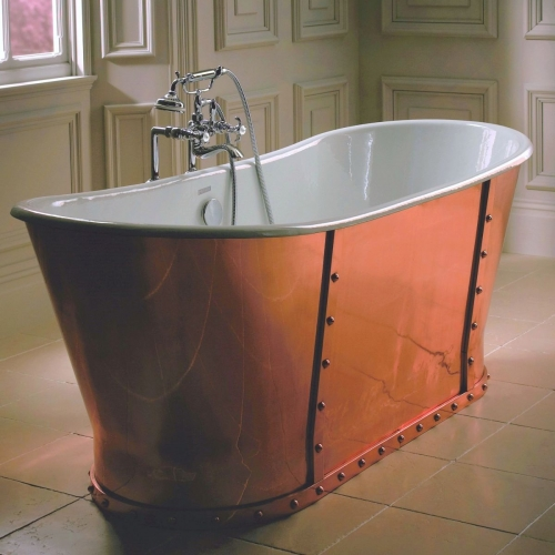 Imperial Baglioni Cobra Copper Cast Iron Bath