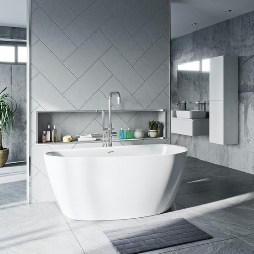 Mode Spencer freestanding bath 1500 x 720